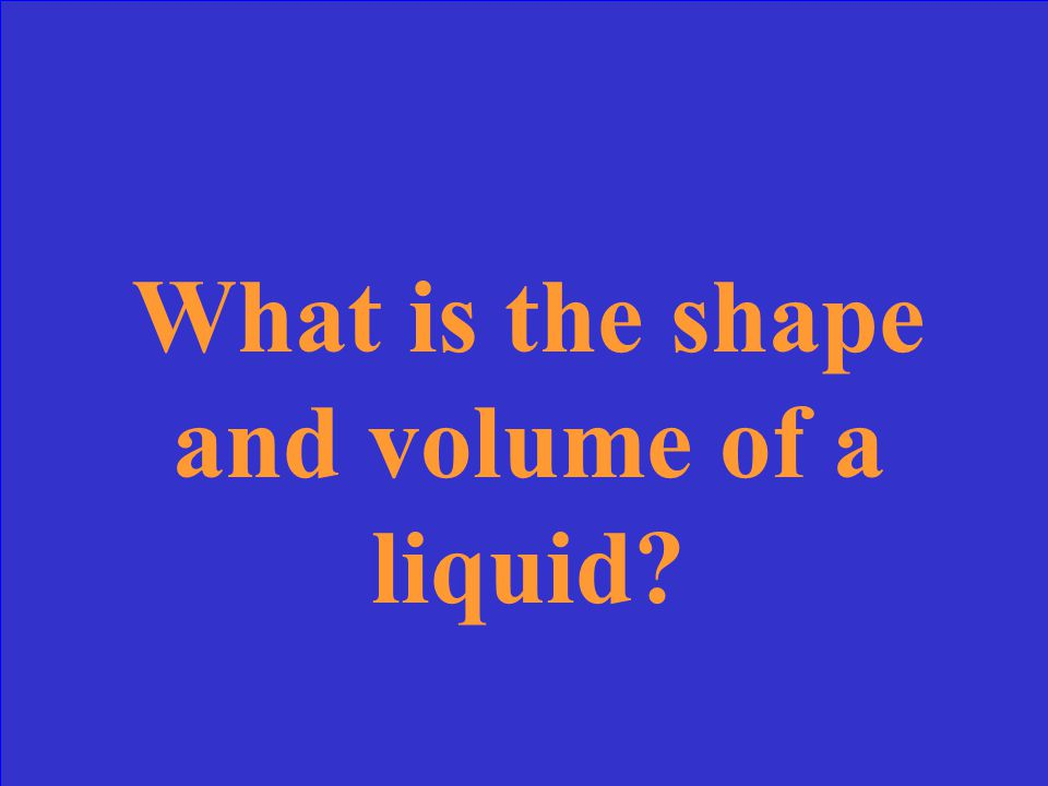 A- Solid B- Liquid D- gas