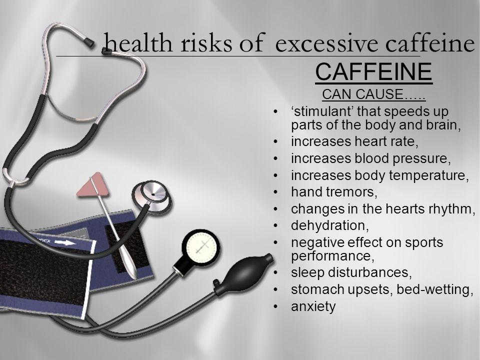CAFFEINE CAN CAUSE…..