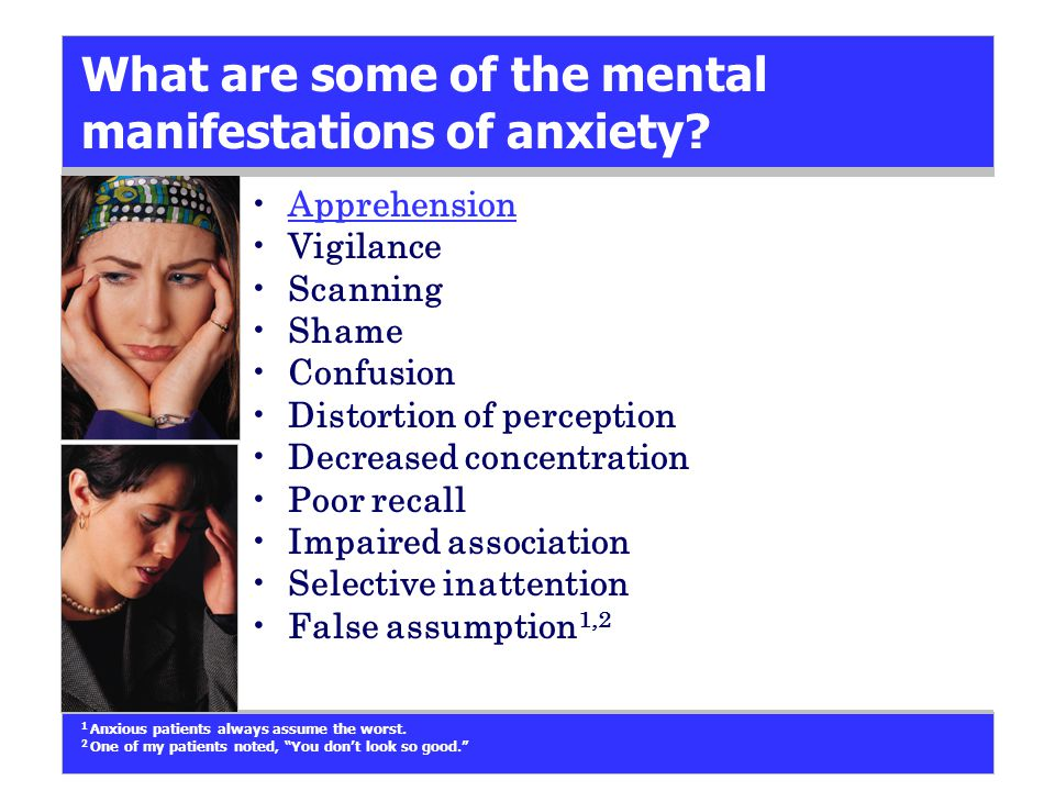 What is a clinical decision tree for diagnosing the anxiety disorders.