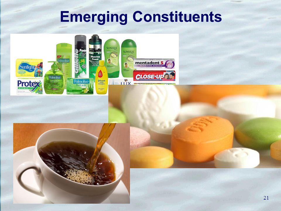 Emerging Constituents 21
