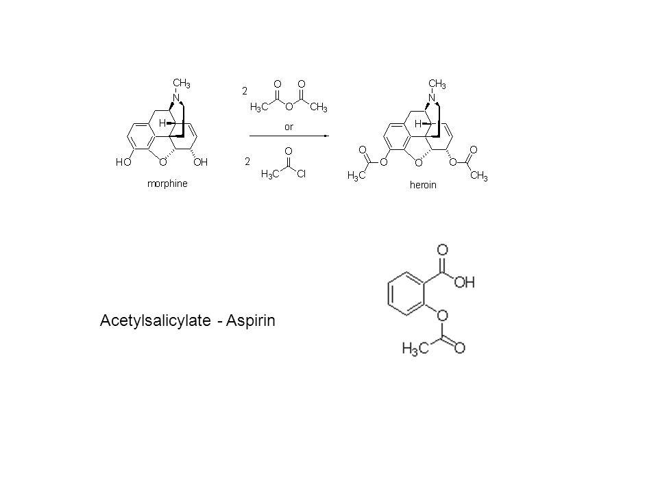 Acetylsalicylate - Aspirin