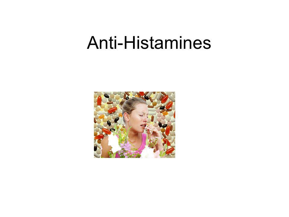 Anti-Histamines