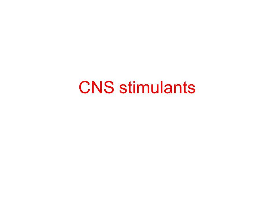 CNS stimulants