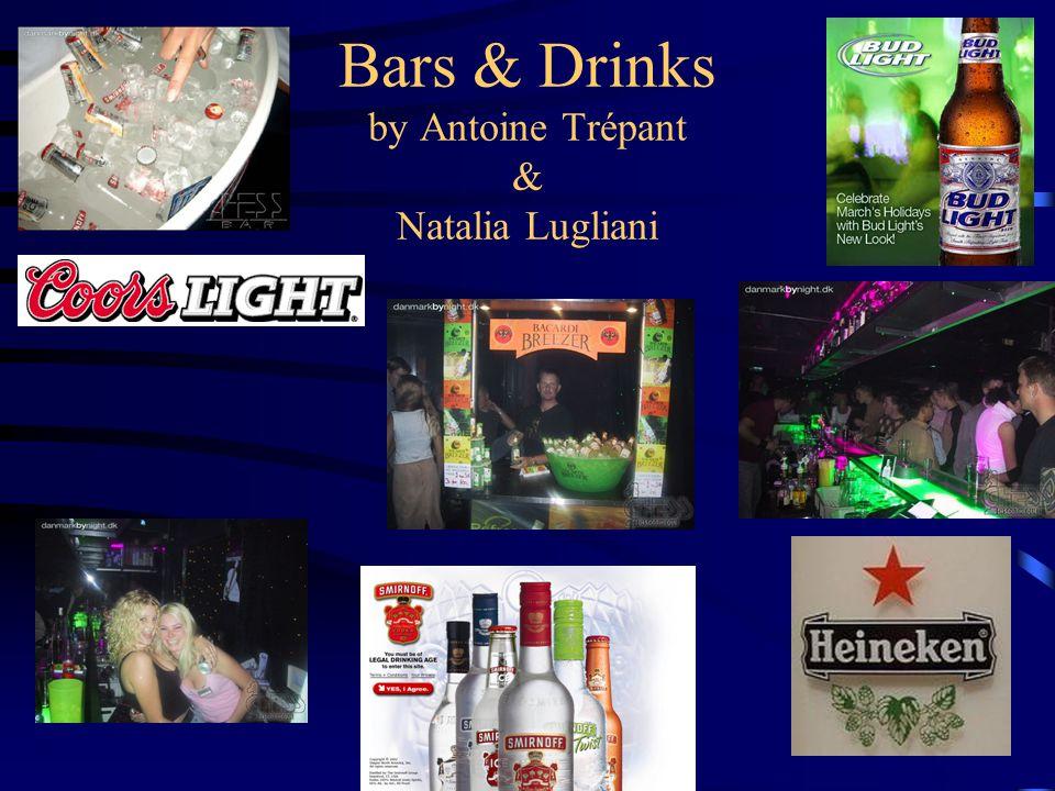 Bars & Drinks by Antoine Trépant & Natalia Lugliani