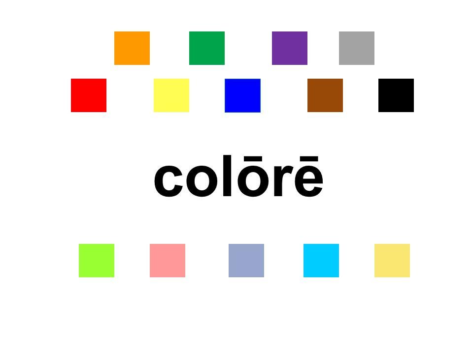 colōrē
