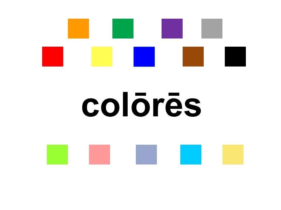colōrēs