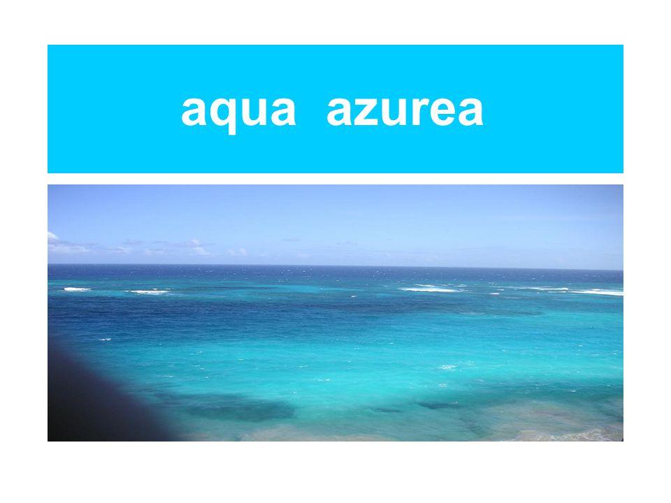 aqua azurea