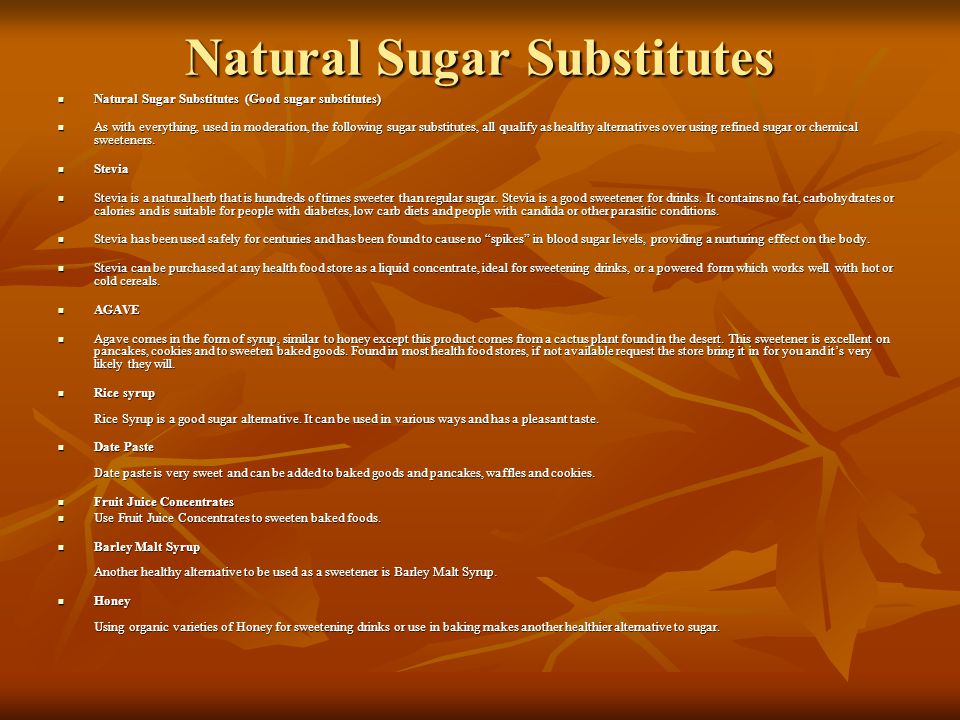 Artificial Sweetners Equal, Nutrasweet or Spoonful (Aspartame) - AVOID Equal, Nutrasweet or Spoonful (Aspartame) - AVOID Recent studies in Europe show that aspartame use can result in an accumulation of formaldehyde in the brain, which can damage your central nervous system and immune system and cause genetic trauma.