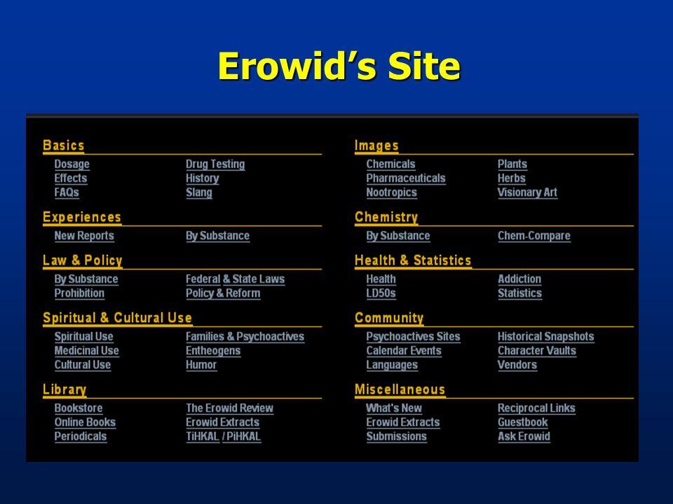 Erowid's Site