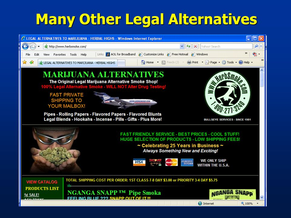 Many Other Legal Alternatives