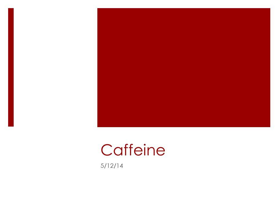 Caffeine 5/12/14