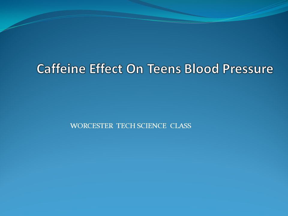 What seems to be a problem Teenagers caffeine addiction is a rising issue.