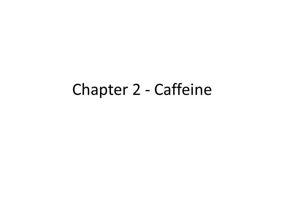 Chapter 2 - Caffeine