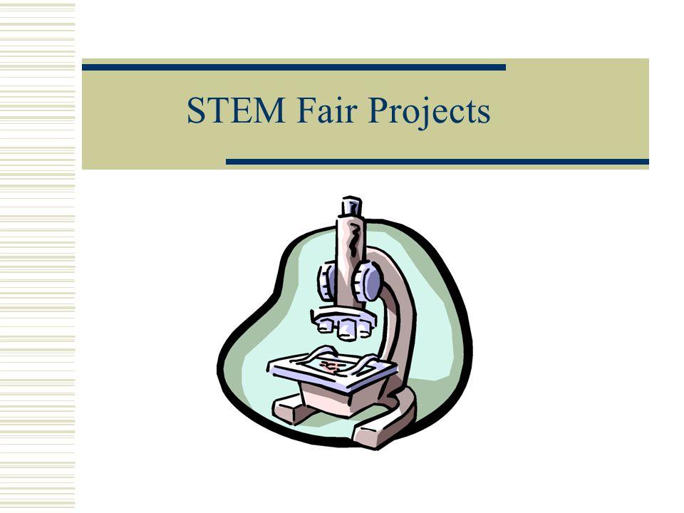 STEM Fair Projects