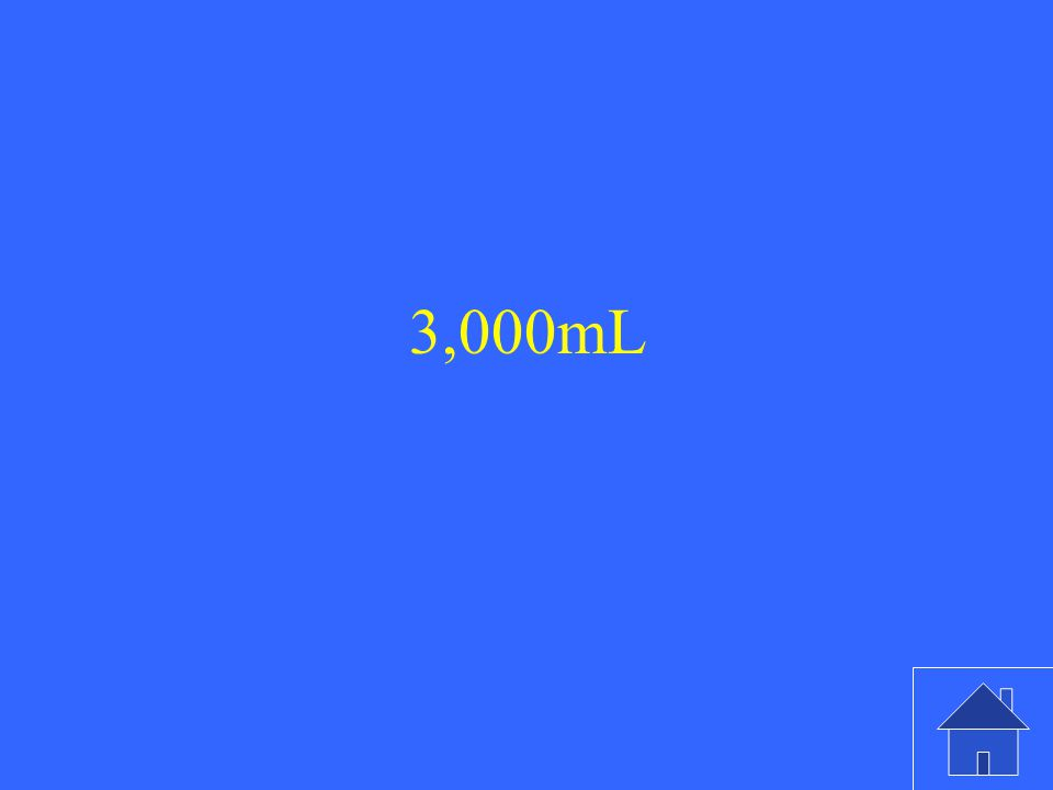 3,000mL