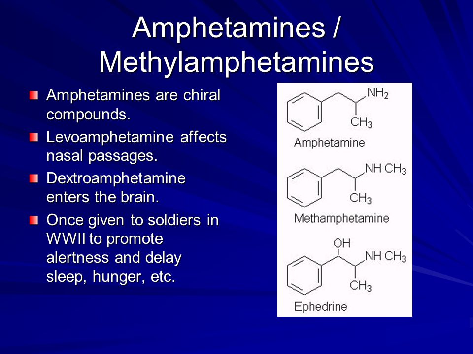 Methylamphetamines These cause a rapid release of stored serotonin and dopamine.