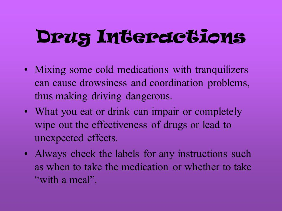 Psychological Side Effects Drugs can cause in the way people think, feel, and behave.