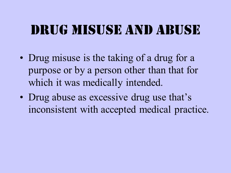 What is a drug. A drug is a chemical substance that affects the way you feel and function.