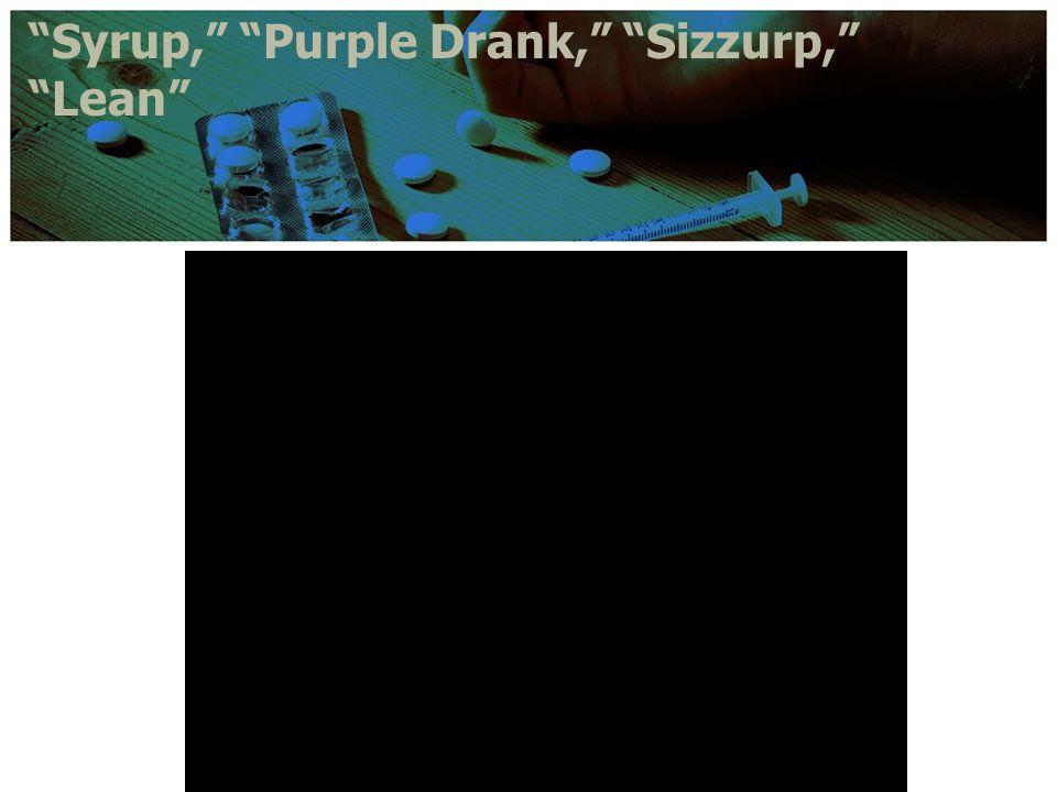 Syrup, Purple Drank, Sizzurp, Lean