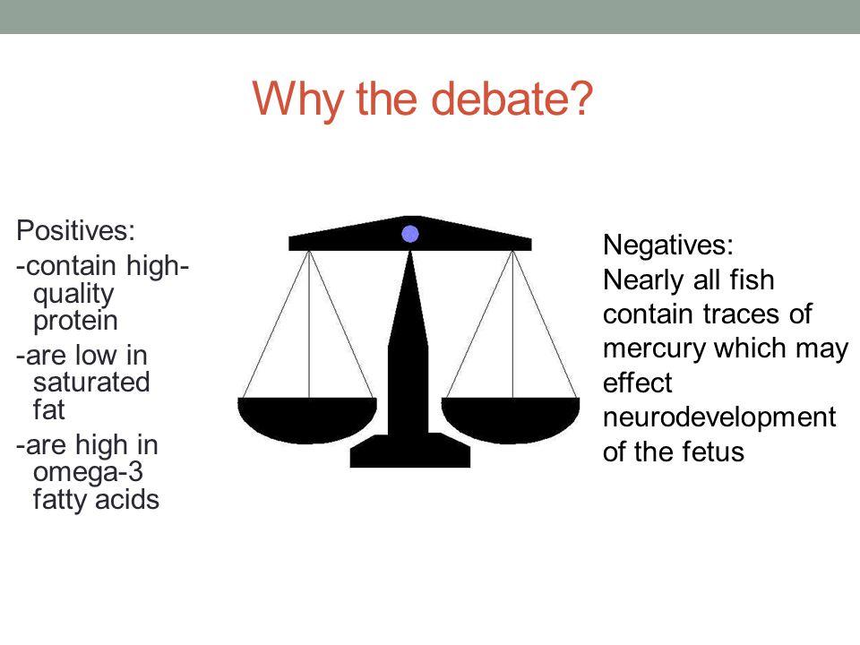 Why the debate.