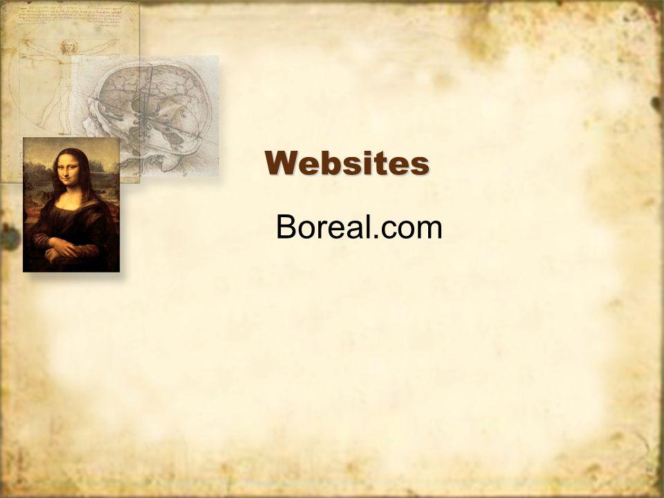 Websites Boreal.com