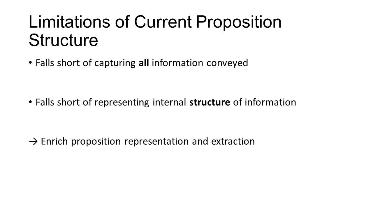 Adding Inter-proposition Structure to Open IE