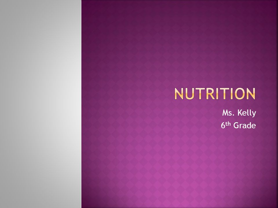  Let's talk about nutrition… (Pick 1 or 2 questions and respond)  What do you know about it….