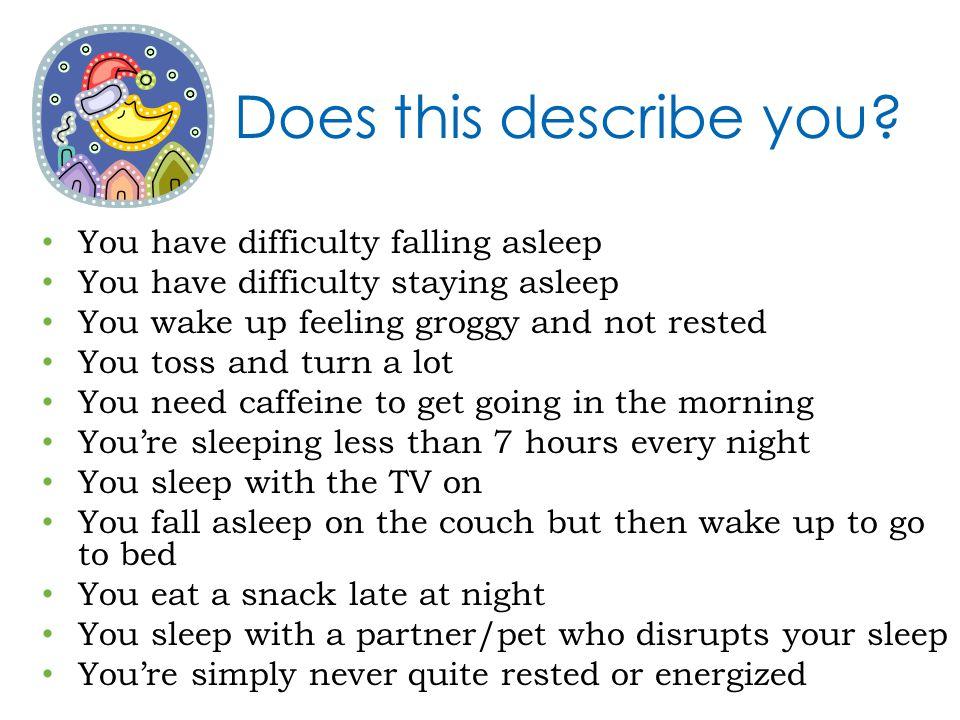 Does this describe you.