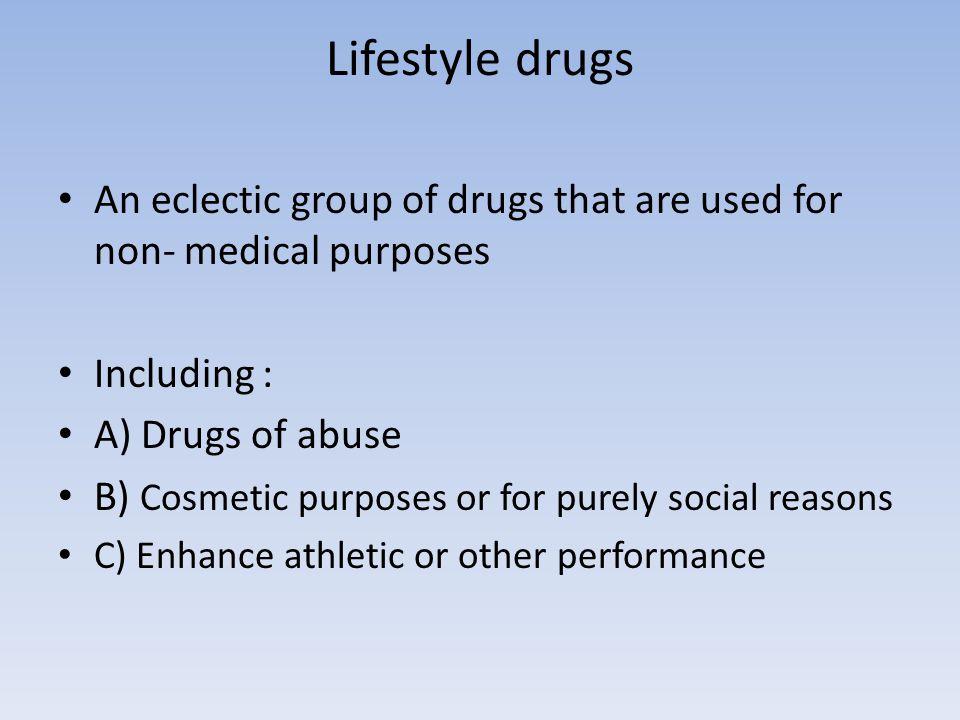 Drugs in sport Stimulants: Ephedrine, methylephenidate, fenfluramine, cocaein, amiphenazole, strychnine,taurine  Effects: Some trials have shawn ; to improve performance in spriting, weightlifting.