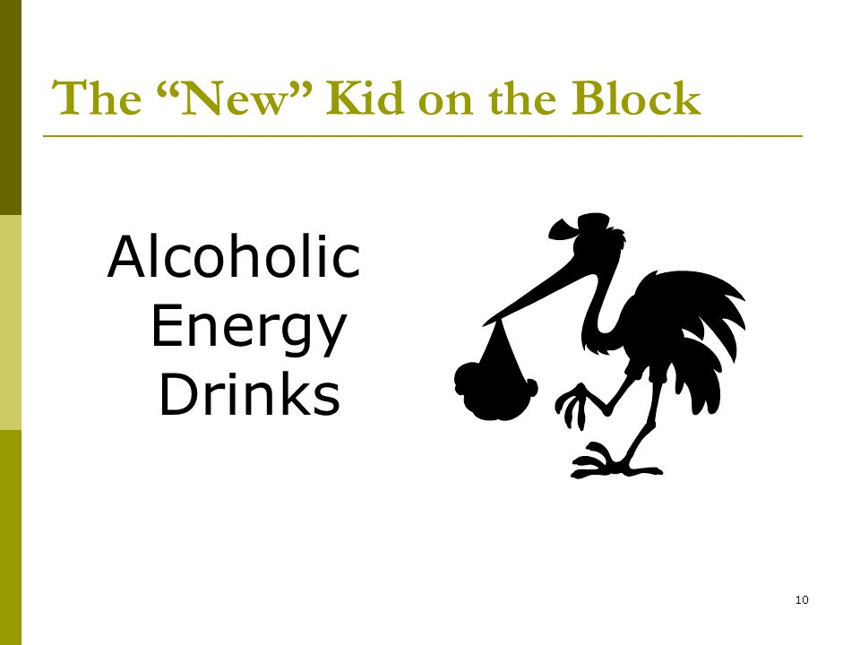 10 The New Kid on the Block Alcoholic Energy Drinks