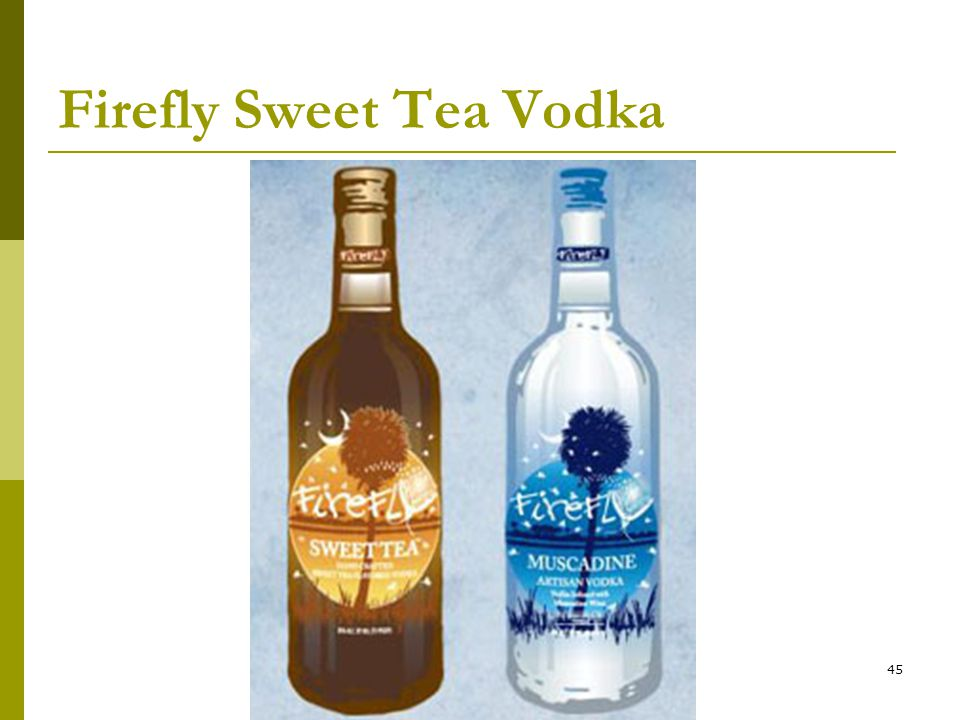 45 Firefly Sweet Tea Vodka