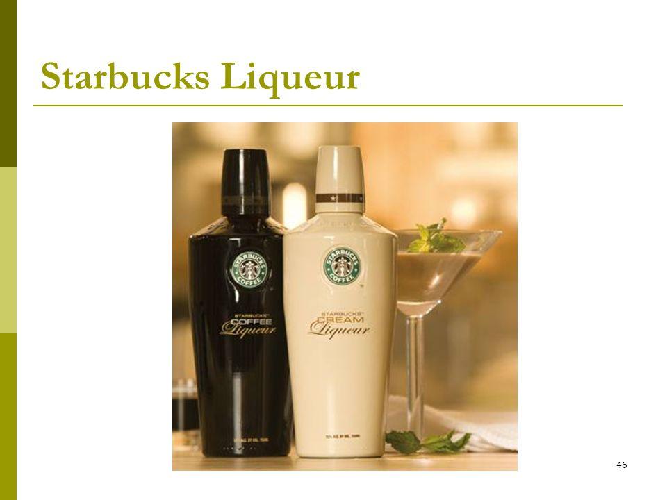 46 Starbucks Liqueur