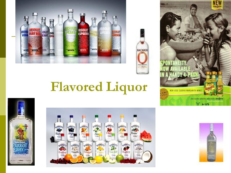 50 Flavored Liquor