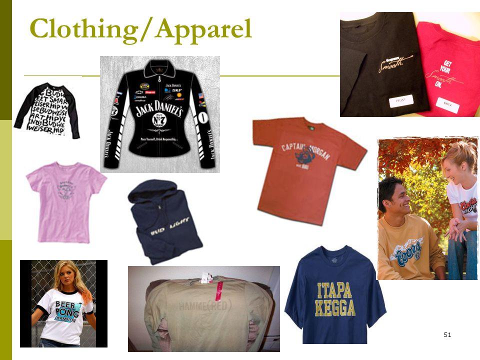 51 Clothing/Apparel