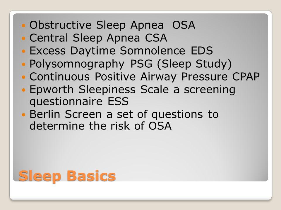 Stroke And Sleep Apnea