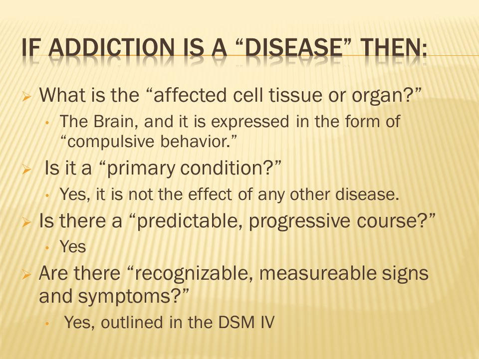 " What is the ""affected cell tissue or organ?"" The Brain, and it is expressed in the form of ""compulsive behavior.""  Is it a ""primary condition?"" Yes"
