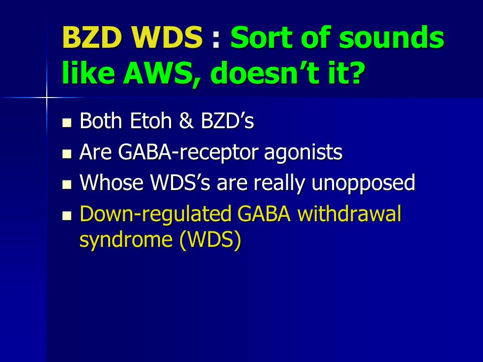 BZD WDS : Sort of sounds like AWS, doesn't it.