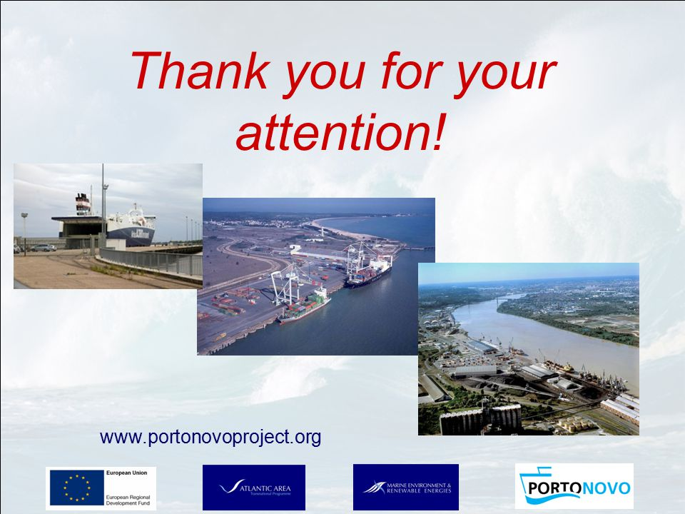 Thank you for your attention! www.portonovoproject.org