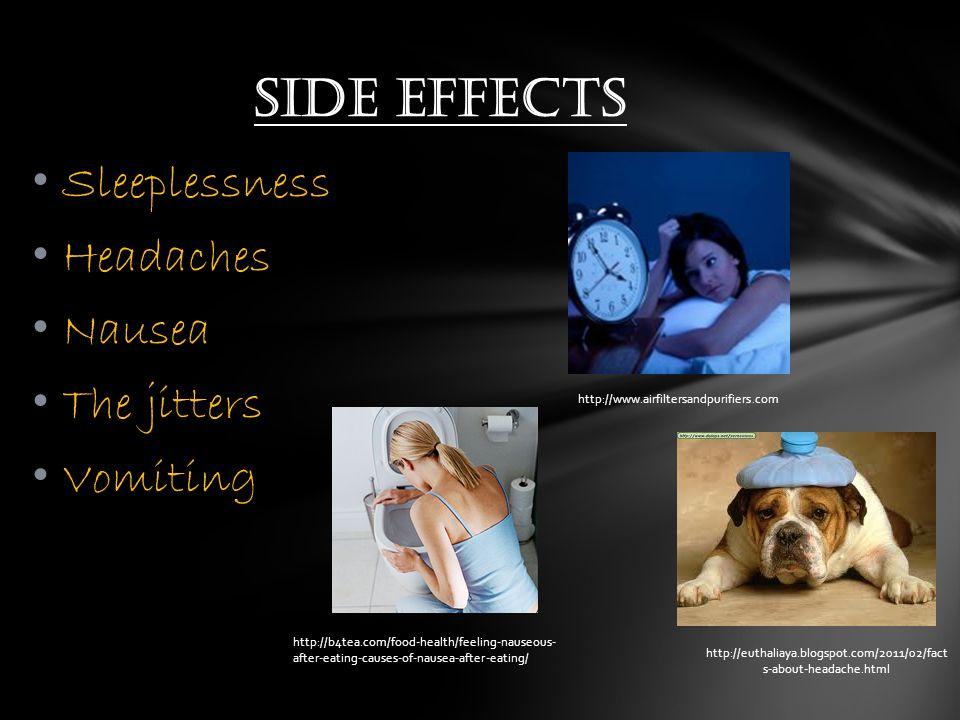 Increased blood pressure Increased heart rate Caffeine addiction Diuretic dependence Long term effects http://mayorshealthline.wordpress.com/2011/05/02/1201/ http://www.5150juice.com/EnergyDrinks /