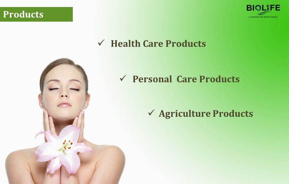 Health Care Products Products Personal Care Products Agriculture Products