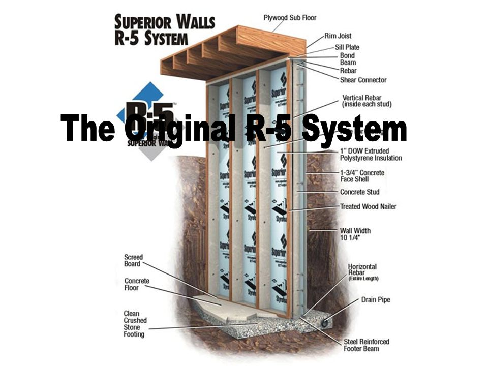 How do the Superior Walls Systems Compare to Block, Poured in Place (PIP) or Insulated Concrete Form (ICF) Foundation Systems.