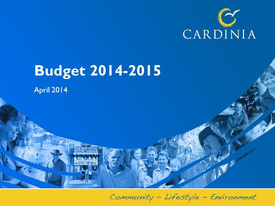 Budget 2014-2015 April 2014