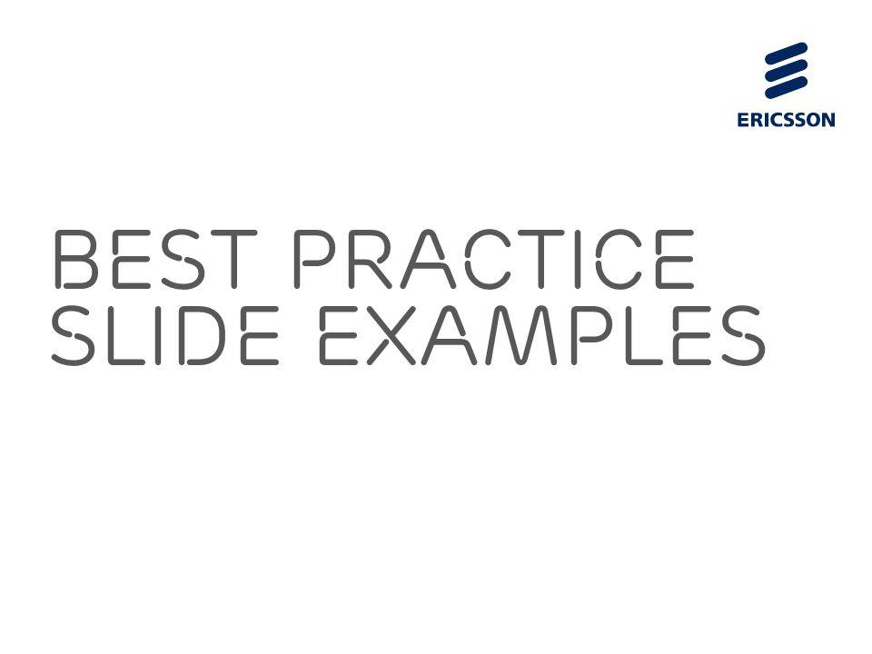 best practice SLIDE EXAMPLES