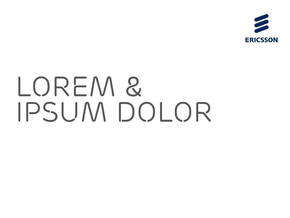 Lorem & Ipsum Dolor