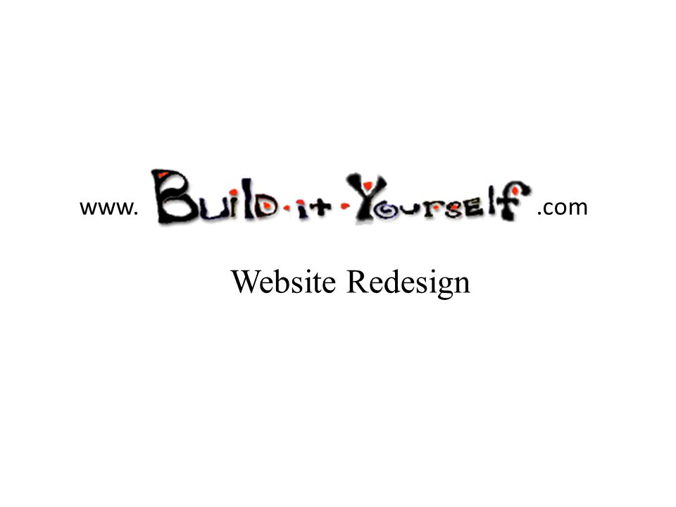 www..com Website Redesign