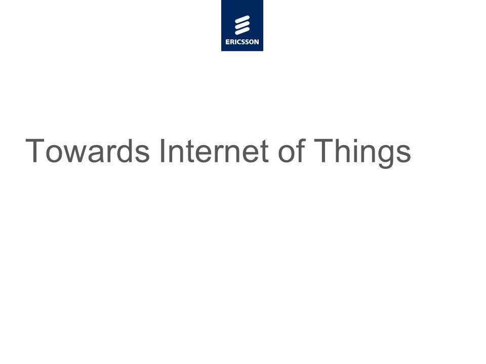 Slide title minimum 48 pt Slide subtitle minimum 30 pt Towards Internet of Things