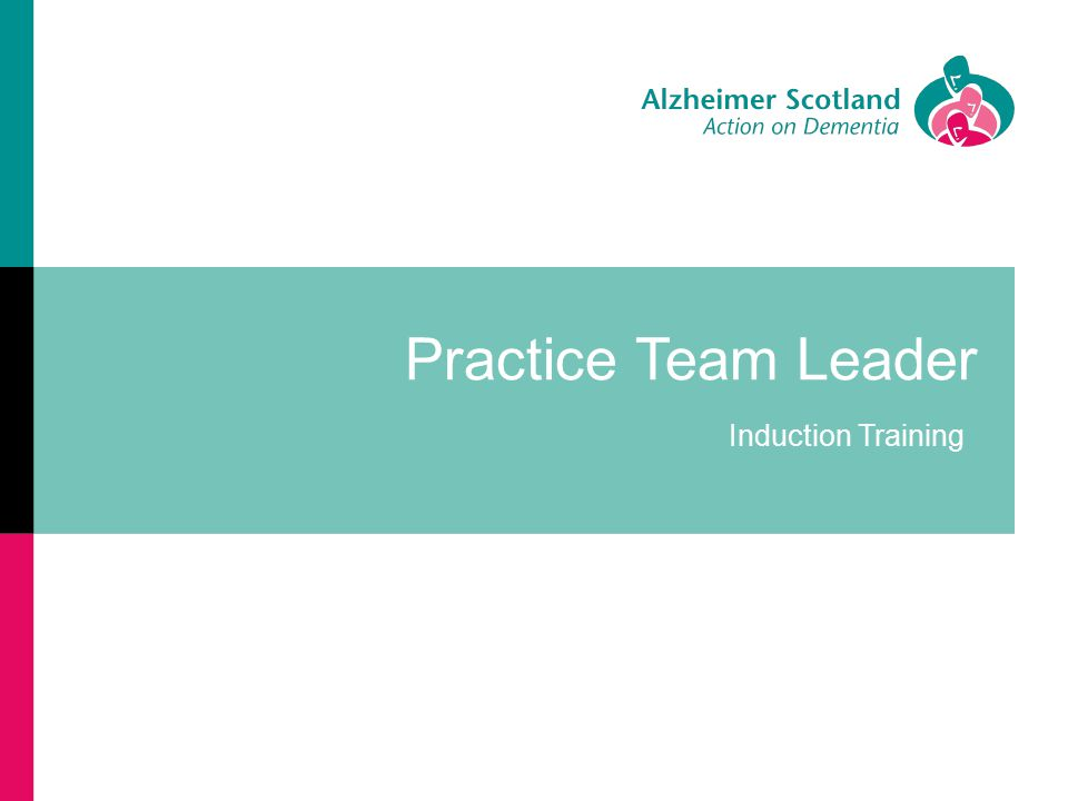 Practice Team Leader Induction Training