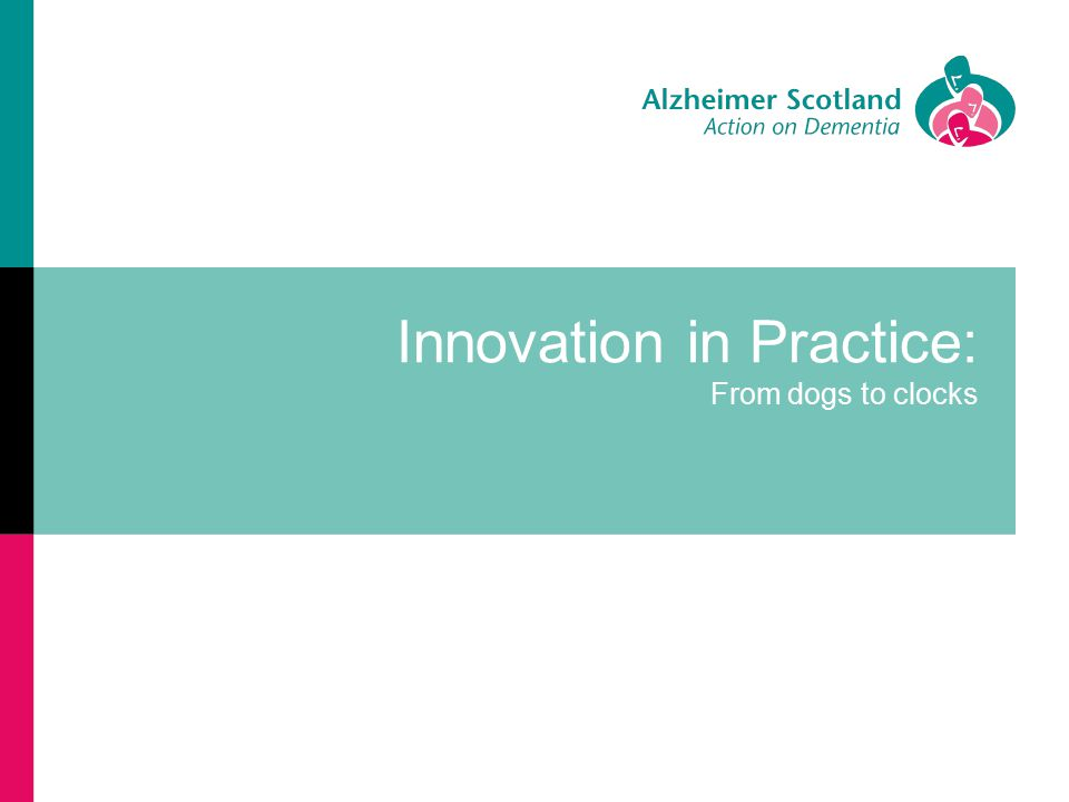Innovation in Practice: From dogs to clocks