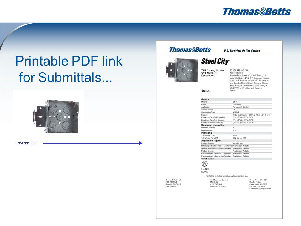 24 Printable PDF link for Submittals...