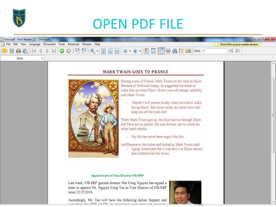 OPEN PDF FILE 67